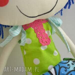 lalki szyta-laka ręcznie szyta lalka anolinka