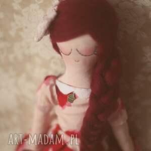 hand-made lalki lalka różana bajka - łucja