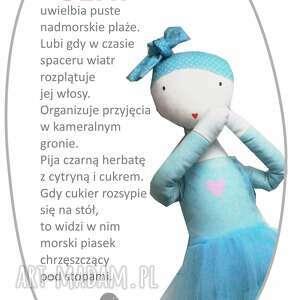 lalka lalki niebieskie sea. tańcząca chmurka