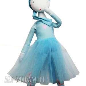 turkusowe lalki szmacianka sea. tańcząca chmurka