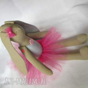 baletnica lalki różowe siedząca