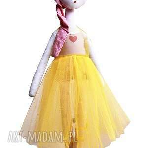 wyraziste lalki balet słoneczna nola - lalka z sercem,