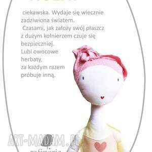 balet lalki żółte słoneczna nola - lalka z sercem,
