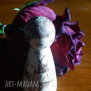 ręcznie zrobione lalki drewno smocza dziewuszka
