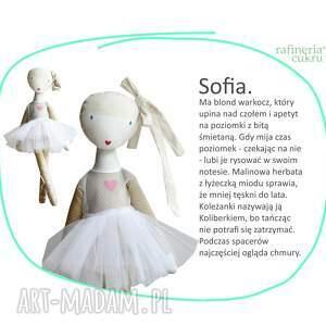 lalki: Sofia baletowa. Lalka z sercem - Hand Made taniec
