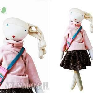 lalki lalka sofia pink. z sercem