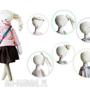lalka lalki różowe sofia pink. z sercem