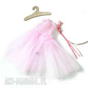 ręcznie robione lalki tutu sukienka baletowa