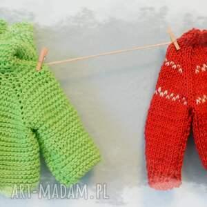 unikatowe lalki sweter sweterek rudolfa. Ubranko