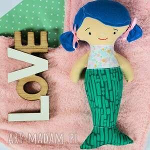 turkusowe syrenka - lalka - 30 cm - ela