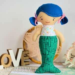 awangardowe lalki dziewczynka syrenka - lalka - 30 cm - ela