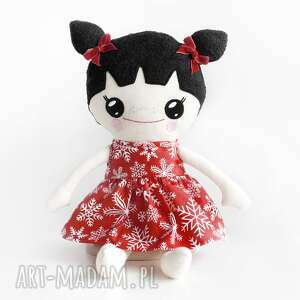 ręcznie robione lalki lalka szmaciana lalalila - poofy