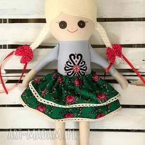 ręcznie robione lalki szmacianka szmaciana lalka