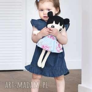 beżowe lalki szmaciana lalka lalalila - poofy