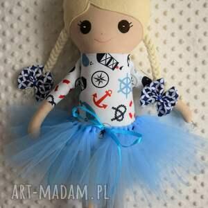 intrygujące lalki szmacianka szmacianka, baletnica, szmaciana