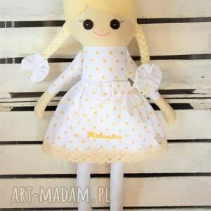 awangardowe lalki lalka szmacianka na chrzest święty