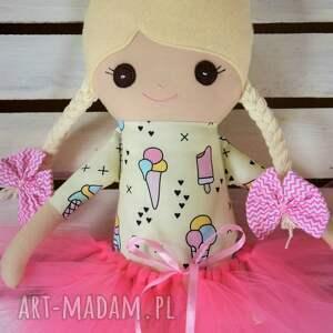 lalki szmaciana uszyta w całości ręcznie lalka