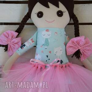 efektowne lalki szmacianka, szmaciana lalka w tutu