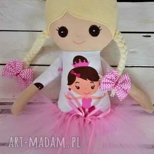wyjątkowe lalki szmacianka, szmaciana lalka w tutu