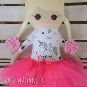 ręczne wykonanie lalki szmaciana szmacianka, lalka w tutu