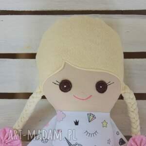 lalki szyta szmacianka, szmaciana lalka w tutu