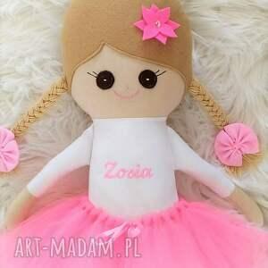 szmaciana lalki piękna laleczka - baletnica, wykonana
