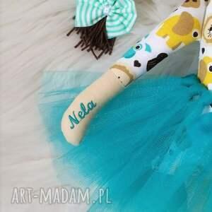 FabryqaPrzytulanek lalki: Szmacianka, szyta lala z personalizacją - handmade