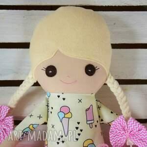 szyta lalki szmacianka z personalizacją