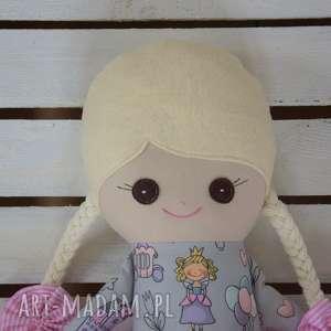 FabryqaPrzytulanek lalki: Szmacianka z personalizacją, szmaciana lalka w tutu - Hand Made