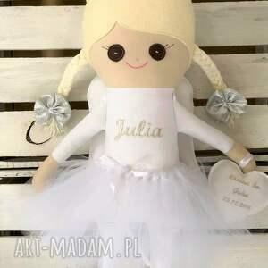 prezent świąteczny szmaciana lalka szmacianka z personalizacją