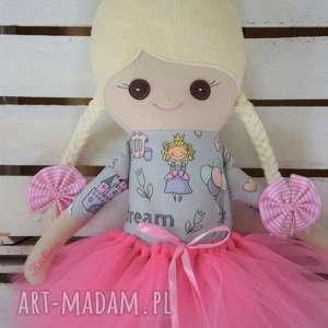 FabryqaPrzytulanek lalki: Szmacianka z personalizacją, szmaciana lalka w tutu - Hand Made szyta