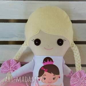 lalki szyta szmacianka z personalizacją
