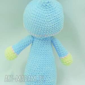 handmade lalki lalka szydełkowa bobas