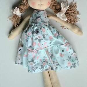 kolorowe lalki lalka szyta laleczka szmacianka
