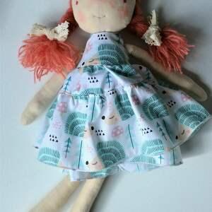 wyjątkowe lalki prezent-na-urodziny szyta laleczka szmacianka. Gotowa