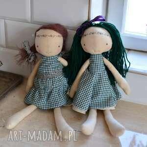 gustowne lalki lalka-rękodzielnicza szyta laleczka szmacianka. Gotowa