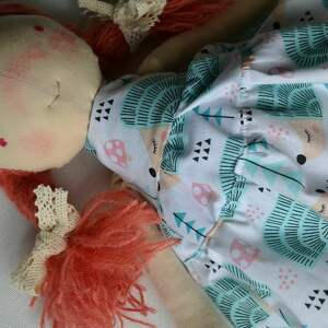 lalki prezent-dla-pięciolatki szyta laleczka szmacianka. Gotowa