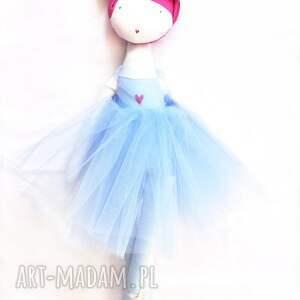 turkusowe lalki balet tańcząca ana blue