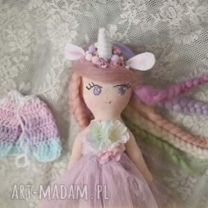ręcznie robione lalki lalka tęczowa bajka - lilia