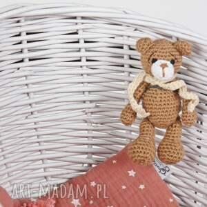 dlalalek lalki wiklinowa kołyska biała z brązowym