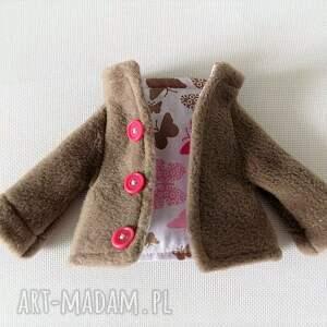 lalka lalki różowe zestaw ubranek