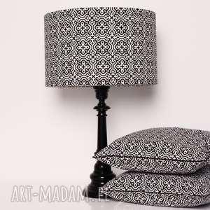 abażur marrakech black 40x40x25cm od majunto - mozaika marokańska