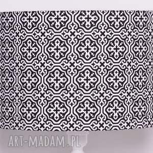 niebanalne marokański abażur marrakech black 40x40x25cm