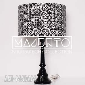 marokański abażur marrakech black 40x40x25cm