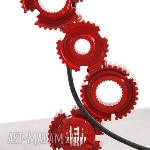unikatowe design ellura - metalowa lampa z części