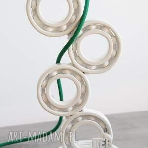 designerska eraginbat - upcyclingowa lampa