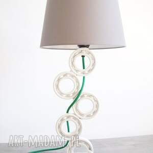 stołowa eraginbat - upcyclingowa lampa