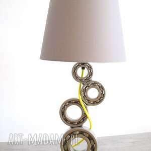 Berriro Eraginbi - elegancka lampa stołowa do salonu - metalowa loftowa