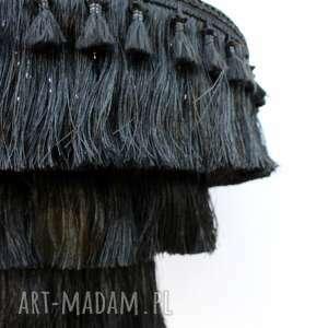 etniczna lampa fringe boho