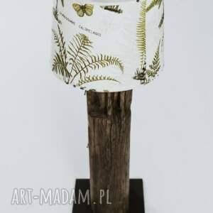 brązowe lampy recykling lampa podłogowa ze starej